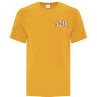 GCS ATC Men's Cotton Short Sleeve T Shirt - Gold (GCS-102-GO)