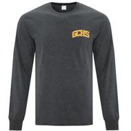 GCS ATC Adult Everyday Long Sleeve T Shirt - Dark Heather Grey (GCS-003-DH)