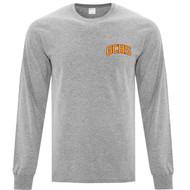 GCS ATC Adult Everyday Long Sleeve T Shirt - Athletic Heather (GCS-003-AH)