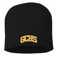 "GCS Sportsman - 8"" Knit Beanie - Black (GCS-053-BK.TE-SP08-BLA-OSFA)"