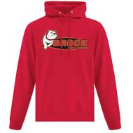 BRO ATC Everyday Fleece Hooded Sweatshirt (Design 01) -Red (BRO-004-RE)