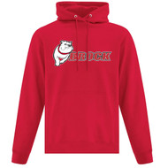 BRO ATC Everyday Fleece Hooded Sweatshirt (Design 02) - Red (BRO-005-RE)