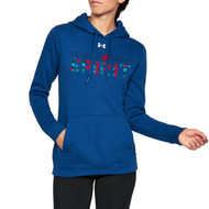 STS Under Armour Women's Hustle Fleece Hoodie - Royal (STS-203-RO)