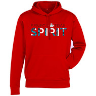 STS Men's Hype Pull-On Hoodie -Red (Staff) (STS-105-RE)