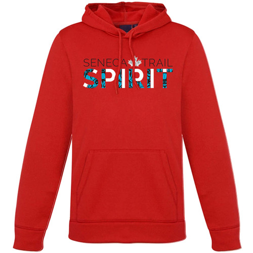 STS Ladies Hype Pull-On Hoodie - Red (Staff) (STS-205-RE)