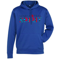 STS Men's Hype Pull-On Hoodie - Royal Blue (staff) (STS-105-RO)