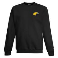 TSS Champion Adult Double Dry Eco Crewneck Sweatshirt - Black (TSS-041-BK)