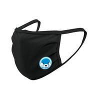 UGR Augusta SportsWear 3 Ply Mask with Otters Logo - Black (UGR-053-BK.AG-6821-BLA-OS)