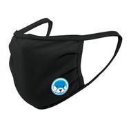 UGR Augusta SportsWear 3 Ply Mask (Youth) - Otters Logo - Black (UGR-054-BK.AG-6822-BLA-OS)