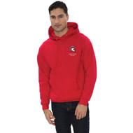 LOP ATC Adult Everyday Fleece Hooded Sweatshirt (Design 2) - Red (LOP-002-RE)