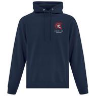 LOP ATC Adult Everyday Fleece Hooded Sweatshirt (Design 2) - Navy (LOP-002-NY)