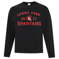 LOP ATC Adult Everyday Fleece Crewneck Sweatshirt - Black (LOP-004-BK)