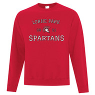 LOP ATC Adult Everyday Fleece Crewneck Sweatshirt - Red (LOP-004-RE)