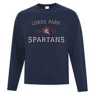 LOP ATC Adult Everyday Fleece Crewneck Sweatshirt - Navy (LOP-004-NY)