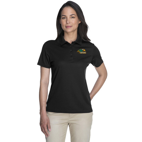 NPS Core 365 Ladies' Origin Performance Piqué Polo - Black (NPS-224-BK)