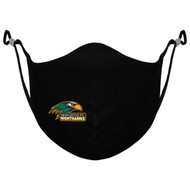 NPS Athletic Knit Adjustable Ear Loop Mask - Black (NPS-051-BK)