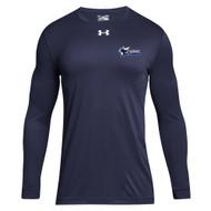 STA Under Armour Men's Locker 2.0 Long Sleeves T-Shirt - Navy (STA-007-NY)