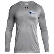 STA Under Armour Men's Locker 2.0 Long Sleeves T-Shirt - True Grey (STA-008-TG)