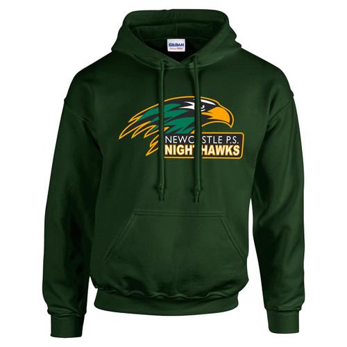 NPS Gildan Adult Heavy Blend 50/50 Hooded Sweatshirt - Forest Green (NPS-023-FO)