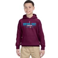 VEE Gildan Youth Heavy Blend Grad Hooded Sweatshirt - Maroon (VEE-314-MA)