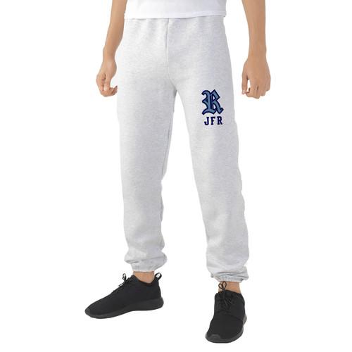 JFR Russell Men's Dri-Power Fleece Sweatpants - Ash Grey (JFR-164-AG)