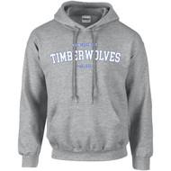 ALV Gildan Adult Heavy Blend Hooded Sweatshirt - Sport Grey (ALV-003-SG)