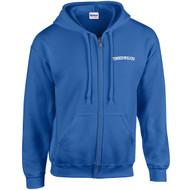 ALV Gildan Adult Heavy Blend Full-Zip Hooded Sweatshirt - Royal Blue (ALV-005-RO)