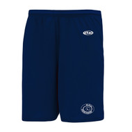 """CCE Dryfit """"St. Cyril Panthers"""" Youth Athletic Shorts - Navy (CCE-306-NY)"""
