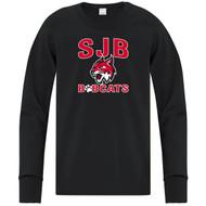 JDB ATC Youth Everyday Cotton Long Sleeve Tee (Design 01) - Black (JDB-323-BK)