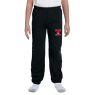 JDB Gildan Youth Heavy Blend Sweatpants (Design 01) - Black (JDB-329-BK)