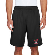 JDB Team 365 Adult Zone Performance Short (Design 01) - Black (JDB-030-BK)