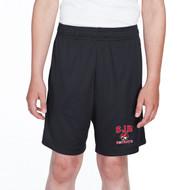 JDB Team 365 Youth Zone Performance Short (Design 01) - Black (JDB-330-BK)