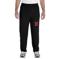 JDB Gildan Adult Heavy Blend Sweatpants (Design 02) - Black (JDB-031-BK)