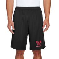 JDB Team 365 Adult Zone Performance Short (Design 02) - Black (JDB-032-BK)