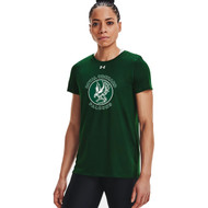 ROS Under Armour Women's Locker T-Shirt - Forest Green (ROS-209-FO)