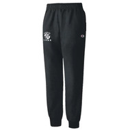 LSH Champion Adult Powerblend Fleece Jogger - Black (LSH-006-BK)