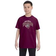 Maple Ridge Wildcats Youth Gildan Heavy Cotton T-shirt - Maroon (MRW-003-MA)