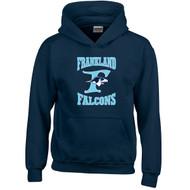FCS Gildan Youth Heavy Blend Hooded Sweatshirt - Navy Blue (FCS-305-NY)