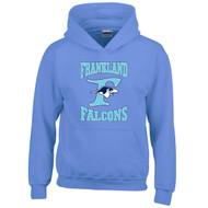 FCS Gildan Youth Heavy Blend Hooded Sweatshirt - Carolina Blue (FCS-305-CL)
