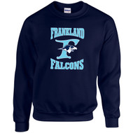 FCS Gildan Adult Heavy Blend Crewneck Sweatshirt - Navy Blue (FCS-006-NY)