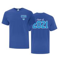 UGR ATC Adult Grad T-Shirt - Royal (UGR-008-RO)