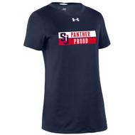 SJS Under Armour Women's Locker T-Shirt - Navy (SJS-236-NY)