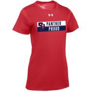 SJS Under Armour Women's Locker T-Shirt - Red (SJS-236-RE)