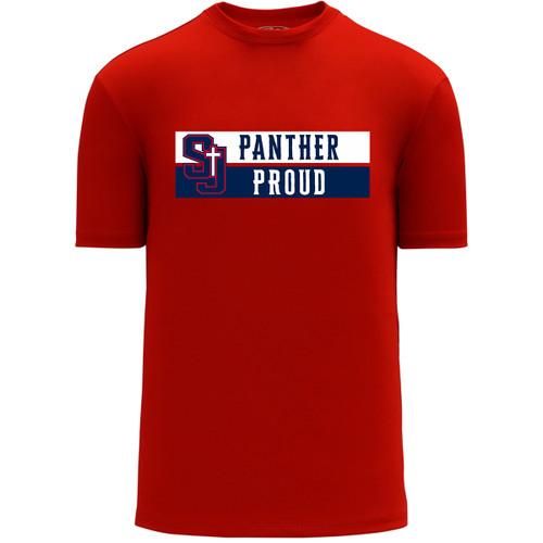 SJS Apparel Women's Short Sleeve Shirt - Red (SJS-228-RE)