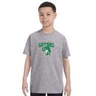 CGG Gildan Youth Heavy Cotton 100% Cotton T-Shirt - Sport Grey