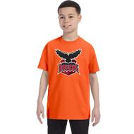 JRP Gildan Youth Heavy Cotton T-Shirt - Orange (JRP-320-OR)
