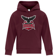 JRP ATC Youth Everyday Fleece Hoodie - Maroon (JRP-322-MA)