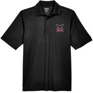JRP Core 365 Men's Origin Performance Piqué Polo - Black (JRP-116-BK)