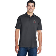 JRP Core 365 Men's Origin Performance Piqué Polo - Carbon (JRP-116-CB)