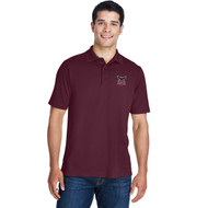 JRP Core 365 Men's Origin Performance Piqué Polo - Burgundy (JRP-116-BU)
